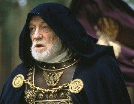 """Roman Emperor Marcus Aurelius in Ridley Scott's """"Gladiator"""""""