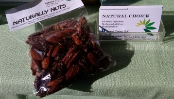 seasoned nuts from Natural Choice