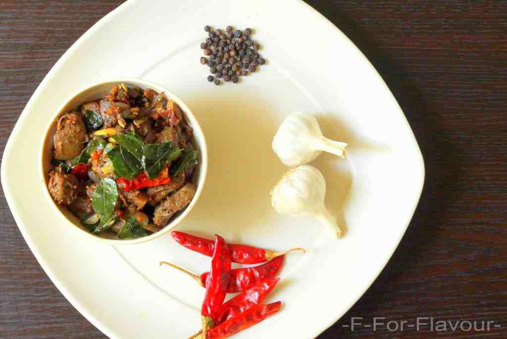 Mutton Fry / Mutton Varuval