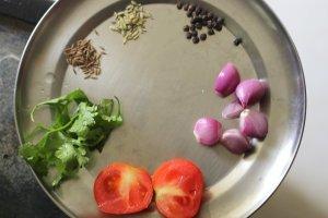 Nattu kozhi soup ingredients