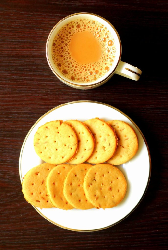 Wheat Jeera Biscuits