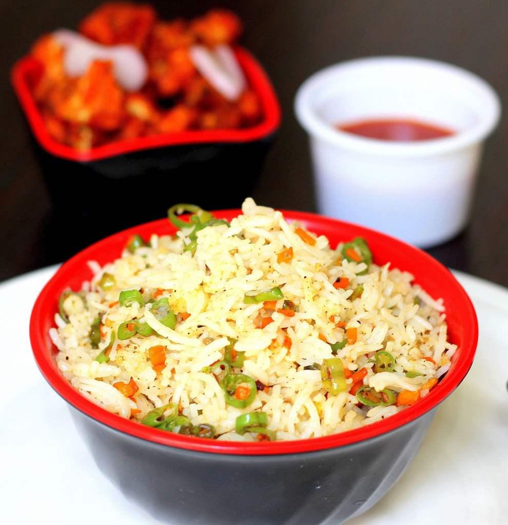 How to make Veg Fried Rice