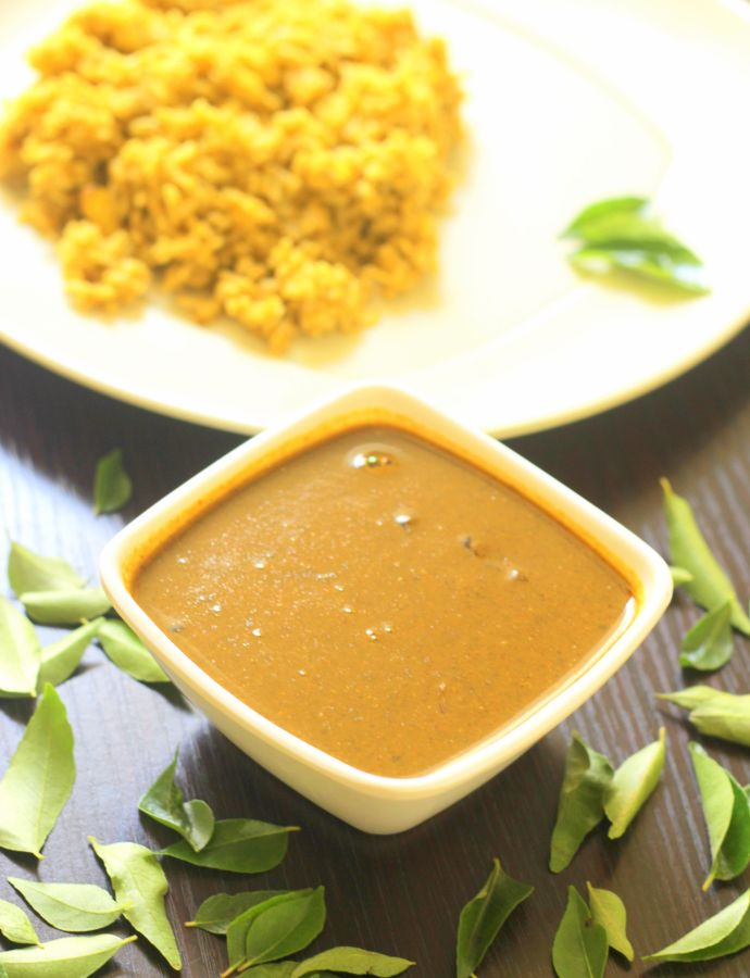 Curry Leaves Gravy / Karuveppilai Kuzhambu