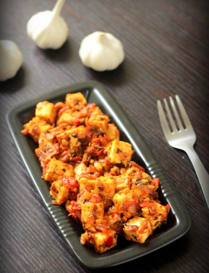 Garlic Paneer – Quick Paneer Starters