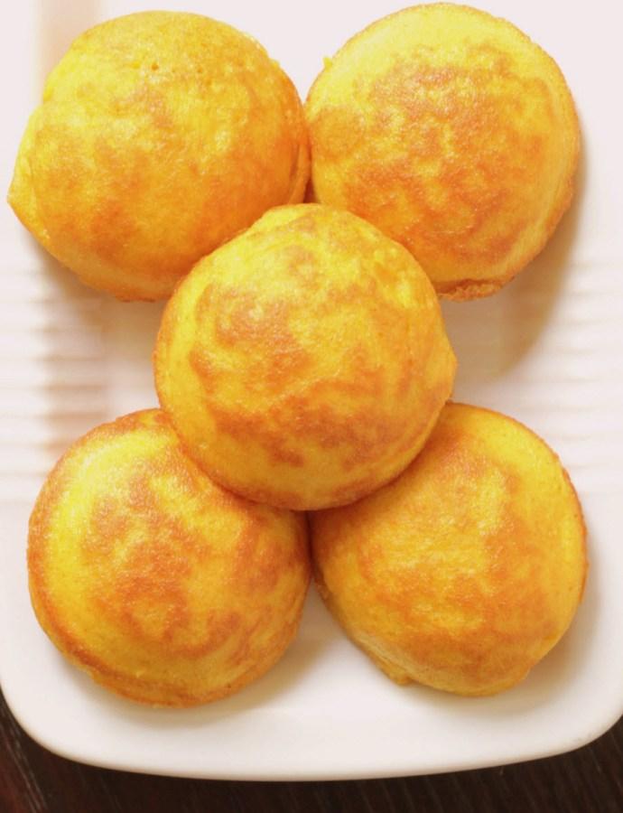 Egg Paniyaram for babies