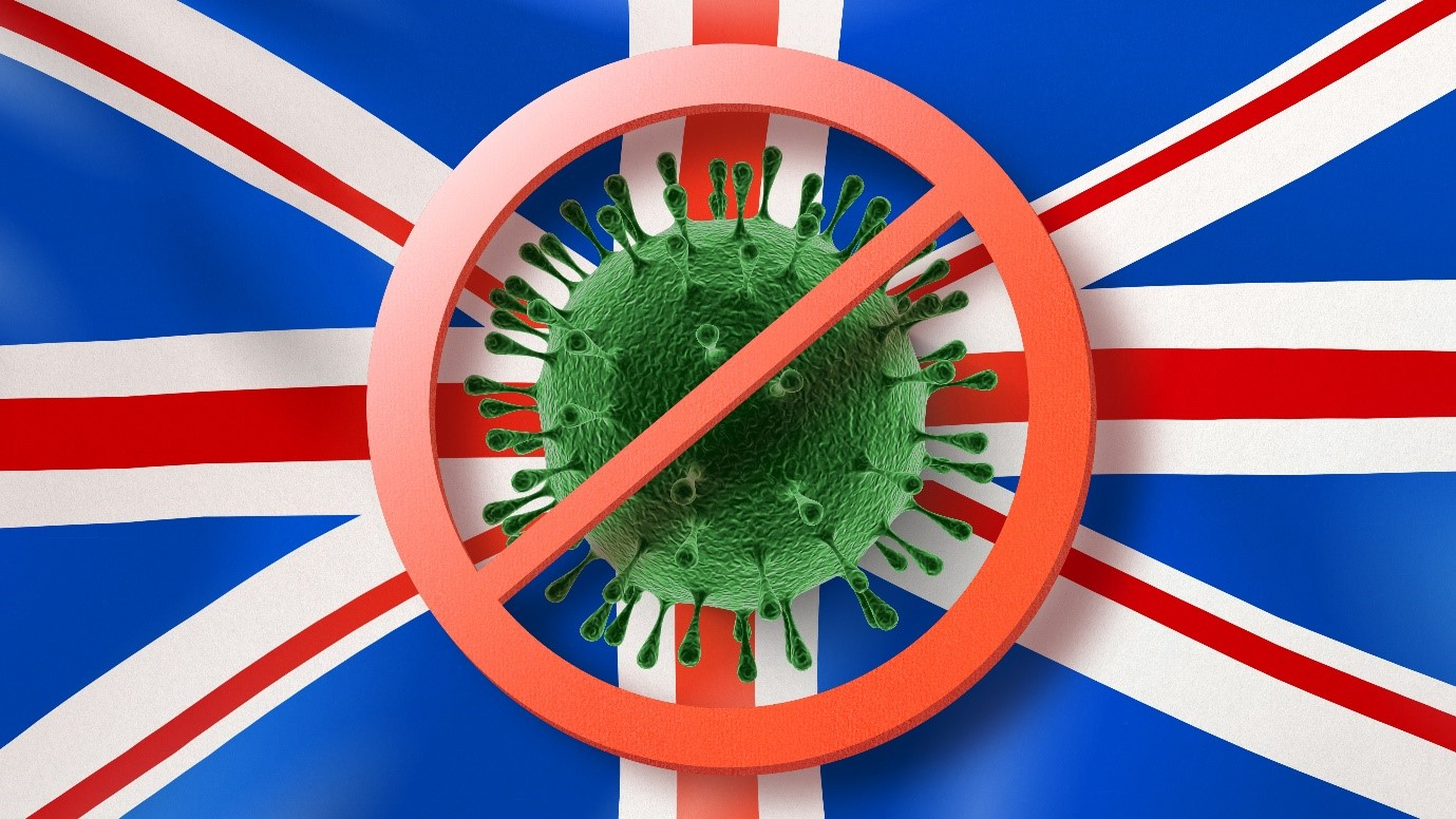NEW COVID-19 STRAIN: Masks protect against the new strain of Covid-19 in the UK & variants of Coronavirus