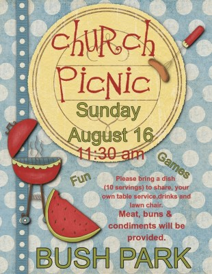 church picnic 2015