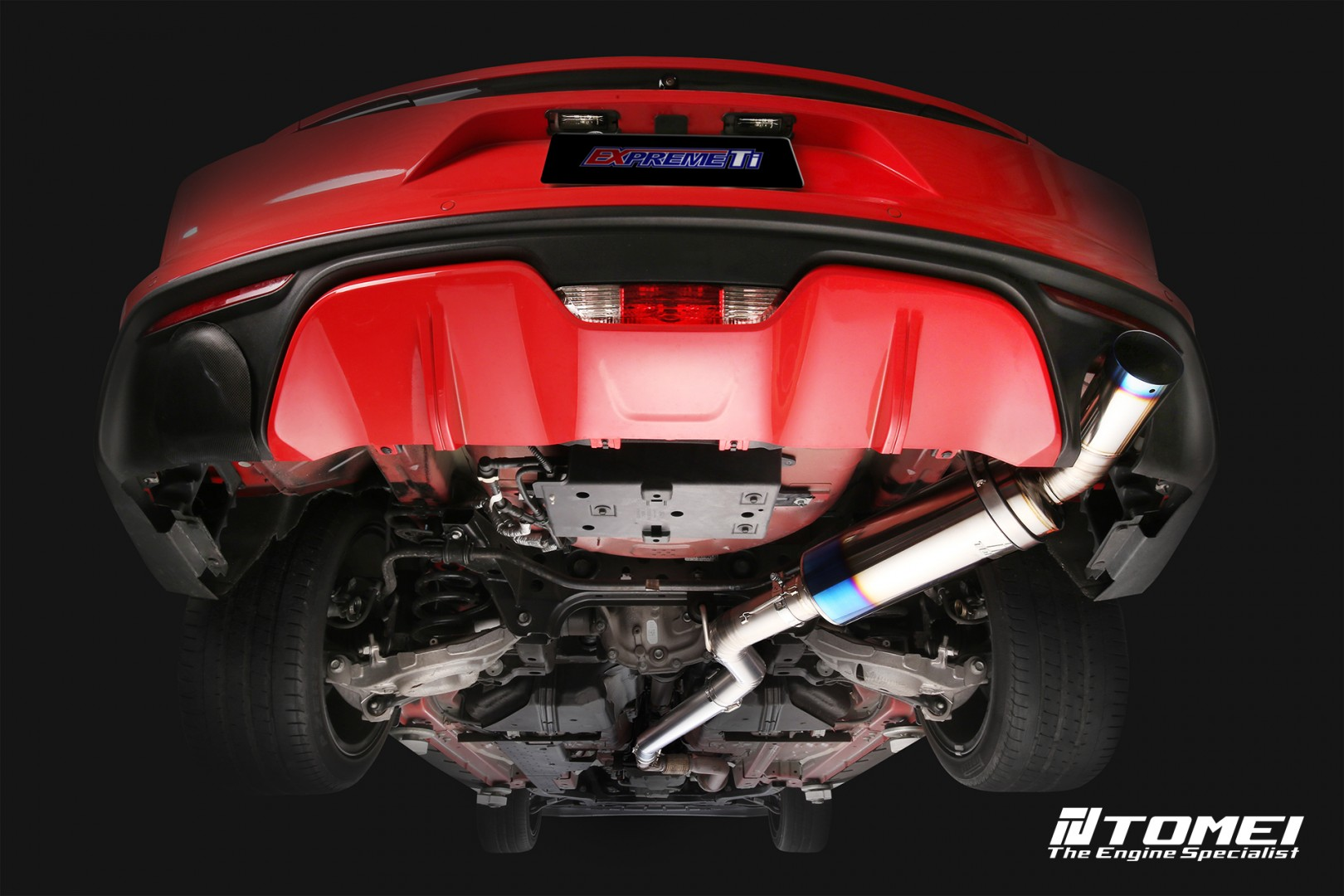tomei 2015 2020 ford mustang ecoboost expreme ti titanium cat back exhaust