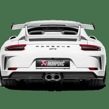Akrapovic 2018-2019 Porsche GT3 991.2 Slip-On Race Line Titanium Exhaust