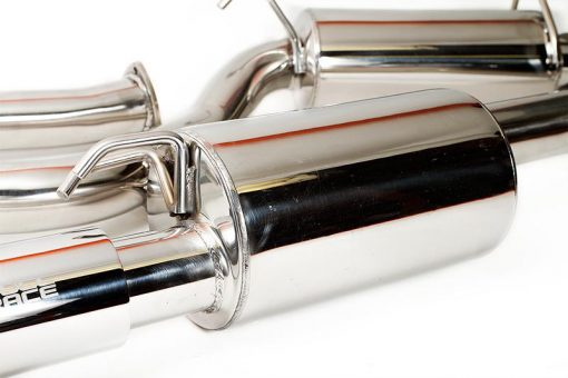 full race motorsports 2005 2010 honda civic si fg2 3 cat back v band exhaust system coupe