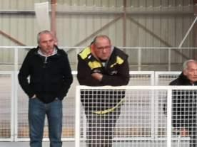 deux supporters attentifs