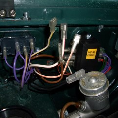 Triumph Tr6 Pi Wiring Diagram Lennox Thermostat P Final Assembly Electrical And Interior