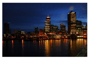 Vancouver City Night