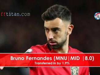 bruno Fernandes is owned by 2%
