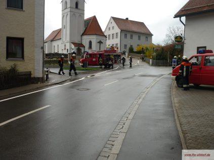 Gemeinschaftsübung Attenhausen