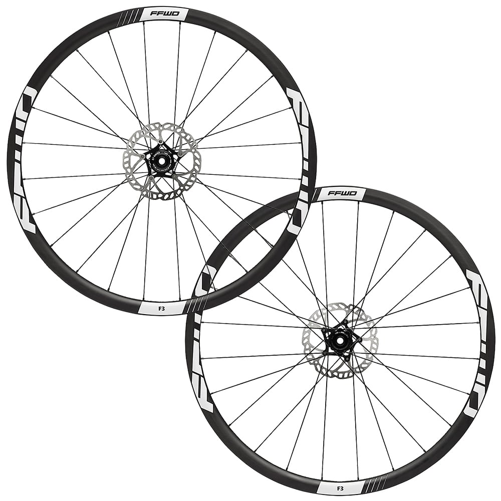 FFWD Wheels F3D 30mm DT240 Disc Brake Carbon Tubular Wheel Set
