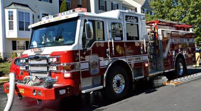 Fair Lakes Townhouse Fire