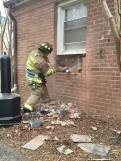 Firefighters Use Donated Building For Realistic Training