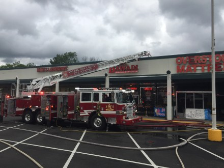 Bailey's Crossroads Store Fire Goes To Two Alarms