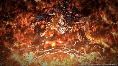 Ifrit Final Fantasy XIV A Realm Reborn Wiki FFXIV FF14 ARR Community Wiki And Guide