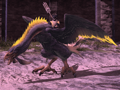 Zu Mount Final Fantasy XIV A Realm Reborn Wiki FFXIV