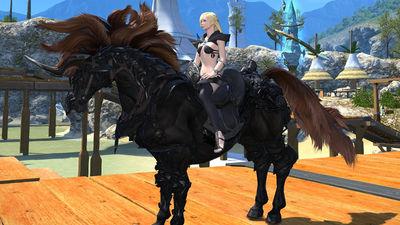 Sleipnir Final Fantasy XIV A Realm Reborn Wiki FFXIV FF14 ARR Community Wiki And Guide