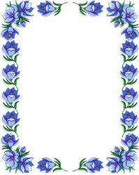 Border Flower Clipart