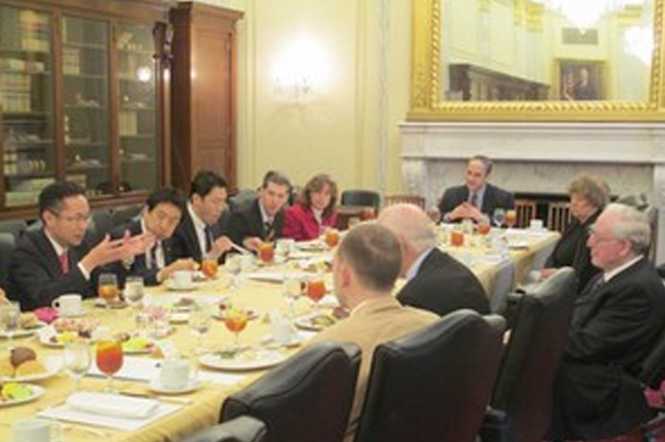 Diet Members Visit US to Explore Cooperation on the Global Fund and Global Health Issues