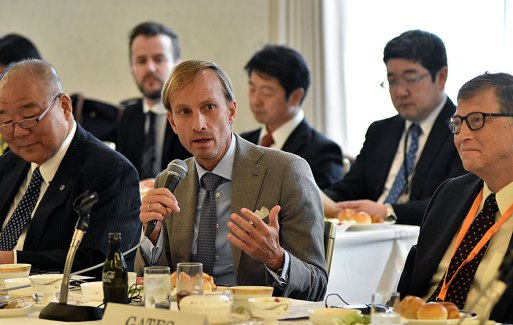 Dr. Mark Dybul, Executive Director of the Global Fund