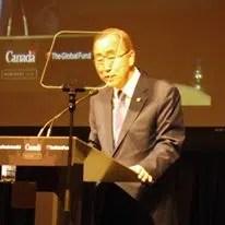 UN Sec-Gen Ban Ki-Moon