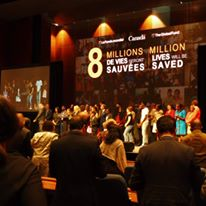The new funds will help save 8 million lives