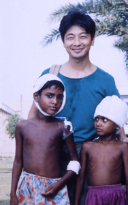 NCGM時代のバングラデシュ竜巻災害支援(國井氏ご提供)