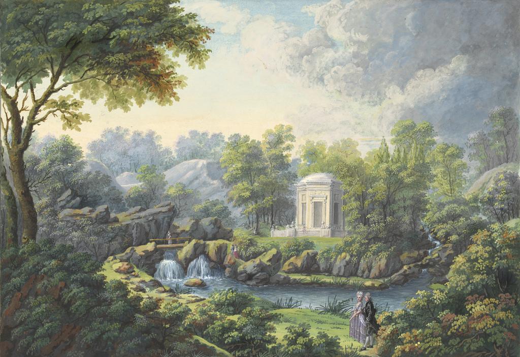 Les jardins  langlaise de Versailles  Andr Le Ntre