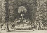 andrelenotre.com - Le Labyrinthe de Versailles (reliure en veau taupe) - éditeur, Rutger (ou Rutgert) Christoffel Alberts (1691-1732)