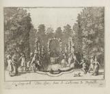 Fontaine du loup et du porc épic