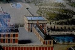 Vue du château et des jardins de Versailles, par Pierre Patel