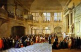 Louis XIV reçoit le serment de Dangeau, le 18 décembre 1695, Antoine Pezey