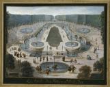 Le plus royal : le bosquet de la Salle du Conseil / salle des Festins - auj. Bosquet de l'Obélisque