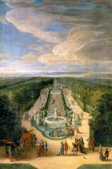 Le plus muséographique : le bosquet de la Salle des Antiques / Galerie d'eau (auj. Salle des Marronniers