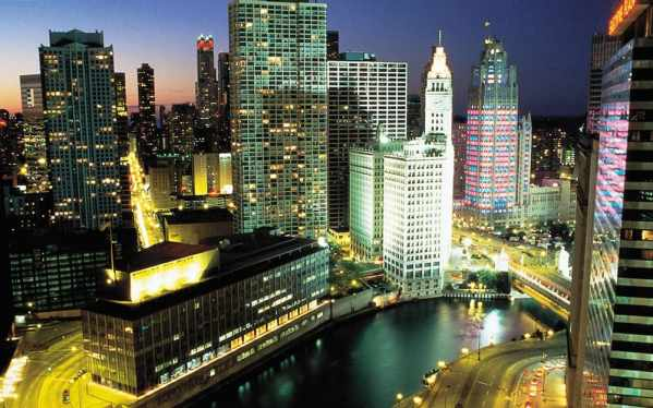 Chicago Green Hotels Sky View