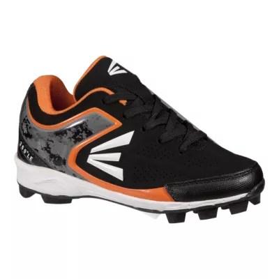 Easton Kids' 360 -cut Baseball Cleats - Black White Orange Sport Chek