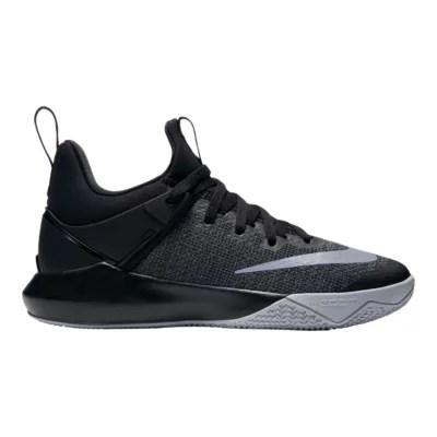 Nike Women S Zoom Shift Basketball Shoes Black Grey