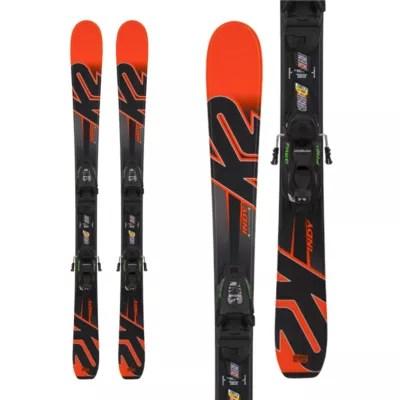 K2 Indy 4.5 Junior Skis 2017 18 & Marker Fdt