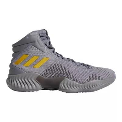 Adidas Men S Pro Bounce 2018 Basketball Shoes Grey Gold