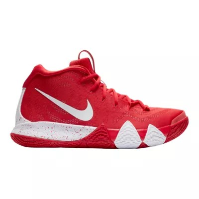 Nike Men S Kyrie 4 Tb Basketball Shoes Red White Sport