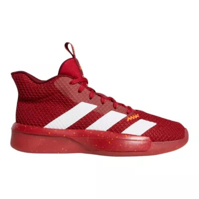 Adidas Men S Pro Next 2019 Basketball Shoes Red White