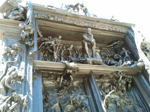 Rodin's The Thinker, The Gates of Hell, from Dante