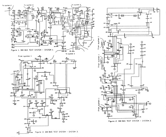 Power Systems Test Cases ::: IEEE 300 Bus Test Systems