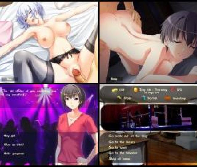 In This Game You Have 120 Days And 3 Attractive Hentai Chicks Which You Must Seduce