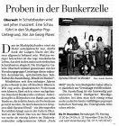 Bericht aus der STZ vom 04.11. zur Ausstellung in der Oberwelt